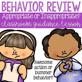 Behavior Review: Appropriate or Inappropriate? Elementary