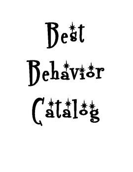 Behavior Reward Catalog