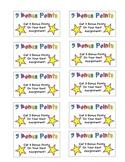 Behavior Reward Coupon- 5 Bonus Points