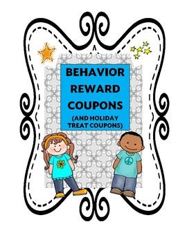 Behavior Reward Coupons (14) and Holiday Coupons (4)