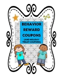 Behavior Reward Coupons (14) and Holiday Coupons (4)