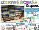 Behavior Reward Coupons {With Editable Coupon Values}