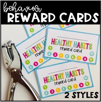 Behavior Reward Punch Card