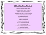 Behavior Rewards: Easy Ideas Students Love!