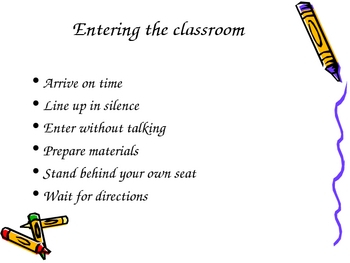 Behavior Routines for the Classroom