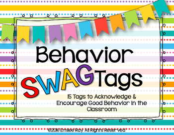 Behavior SWAG Tag