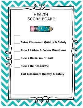 Behavior Scoreboard
