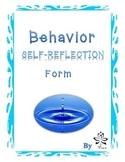 Behavior Self-Reflection