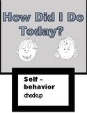 Behavior Self Regulation