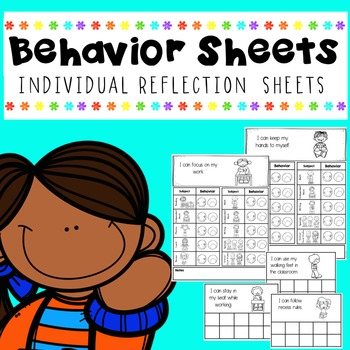 Behavior Sheets- Daily Schedule and Sticker Sheets