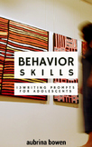 Behavior Skills: Writing Prompts for Adolescents