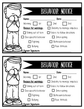 Behavior Slips