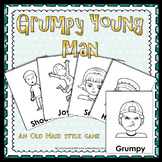 Grumpy Young Man - An old maid style game to practice reco