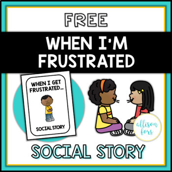 FREE Behavior Social Story