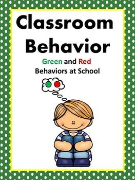 Behavior Social Story (Green and Red Behaviors)
