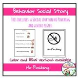 Behavior Social Story: No Pinching