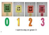 Behavior Social Stry: red-yellow-orange-green