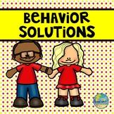 Behavior Solutions for Preschoolers