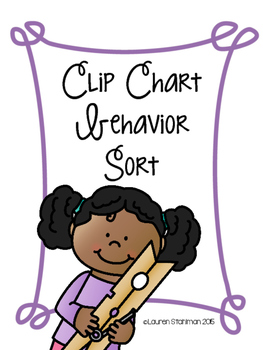 Behavior Sort Clip Chart Companion