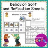 Behavior Sort and Reflection sheet