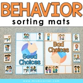 Behavior Sorting Mats [2 mats included] | Good and Bad Beh