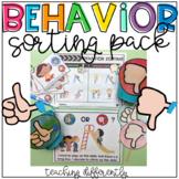 Behavior Sorting Pack