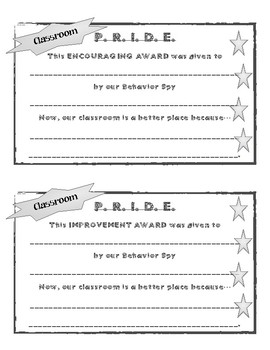 Behavior Spy PRIDE Awards