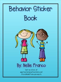 Behavior Sticker Book