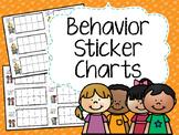 Behavior Sticker Chart