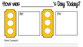 Behavior Stop Light Chart