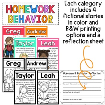 Behavior Stories: Encouraging Collaborative Problem Solvers