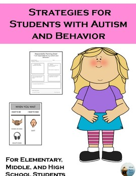 Behavior Strategies for Students with Autism
