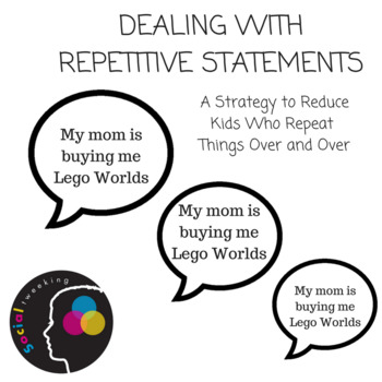 Behavior Strategy : Dealing with repetitive statements