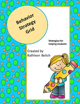 Behavior Strategy Grid
