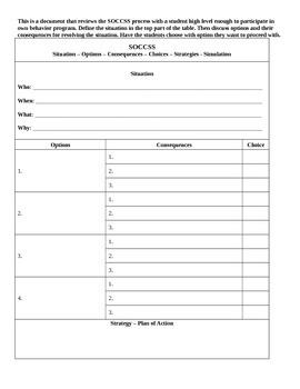 Visual Schedule Behavior Strategy Pack