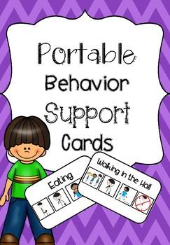 Behavior Support Cards