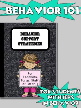 Behavior Support Strategies