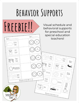 Freebie! Behavior Support: Teacher and Parent Handout