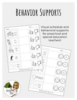 Behavior Support: Teacher and Parent Handout