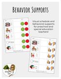 Behavior Support: Teacher and Parent Handout