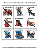 Picture Icons and Visual Supports – Behavior Support (Set 3)