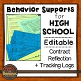 Behavior Supports for High School - Freebie