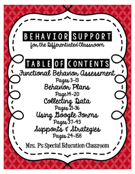 Behavior Supports for the Differentiated Classroom #AcceptAutism