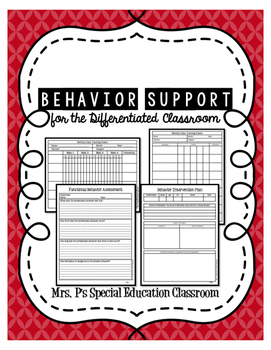 Behavior Supports for the Differentiated Classroom