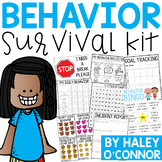 Behavior Survival Kit {Data Tracking, Interventions, Rewar