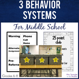 Behavior Systems - Middle School