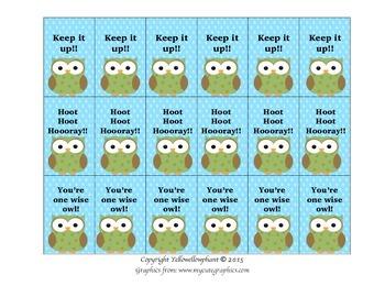 Brag Tags - Owl Free