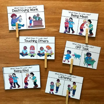 Behavior Task Cards: What Does It Look Like?