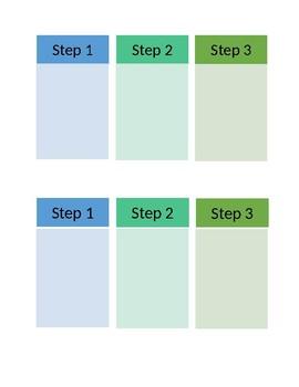 Behavior Task List