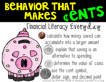 Behavior That Makes Cents